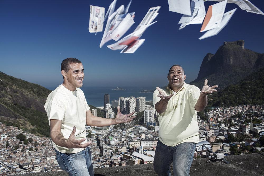 Carteiro Amigo, favela da Rocinha