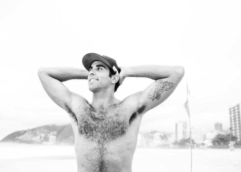 Pedro Solberg, beach volleyball player