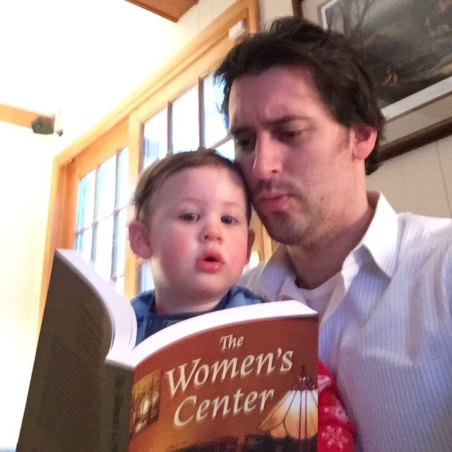The littlest fan of The Women's Center is already diving into his copy. Get yours today at amazon.com! #amikapress #bookcover #bookcoverdesign #debutauthor #smallbusiness #sunnyvale #california #siliconvalley