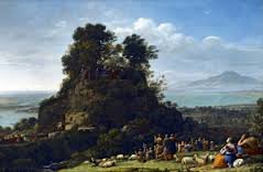 Claude Lorrain, The Sermon on the Mount c 1556 The Frick Colletction