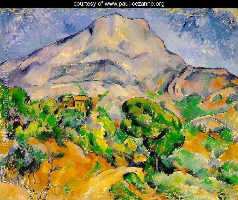 Paul Cezanne Mt St Victoire