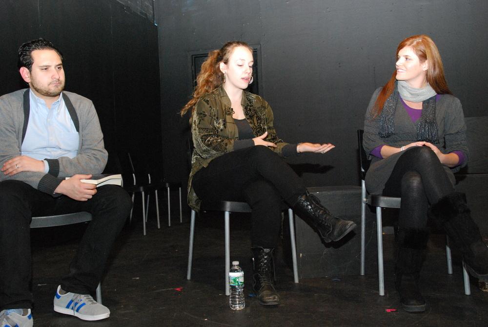 Zac Kline, Dana Greenfield, and Megan Donovan
