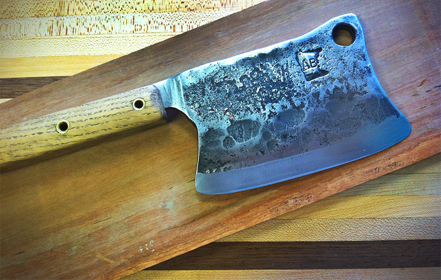 In depth cleaver process on Andrewzimmern.com