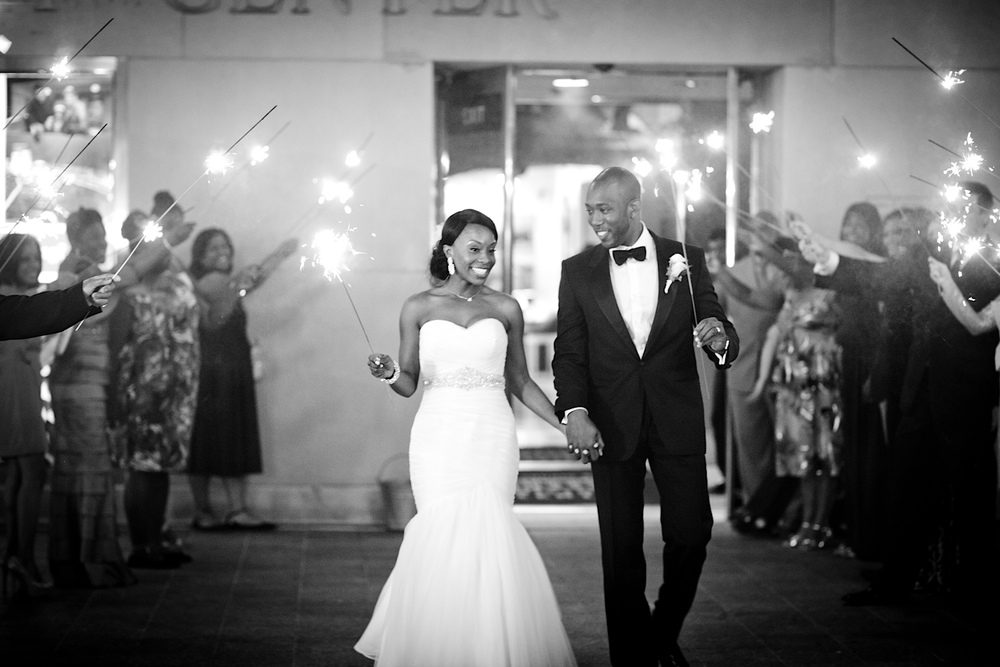 The 2013 wedding of Daralene + Antoine at the The Orange County History Center in downtown Orlando, FL