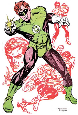 HAL JORDAN The first one, Ryan Reyonlds played him in the movie.