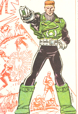 GUY GARDNER The jerk