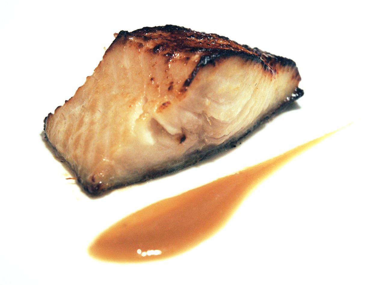 MISOYAKI BLACK COD shiro miso beurre blanc