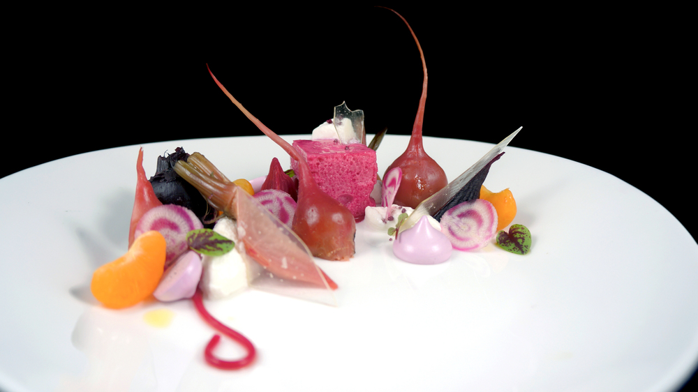 2013 - beet salad - glass, meringue, noodle.jpg