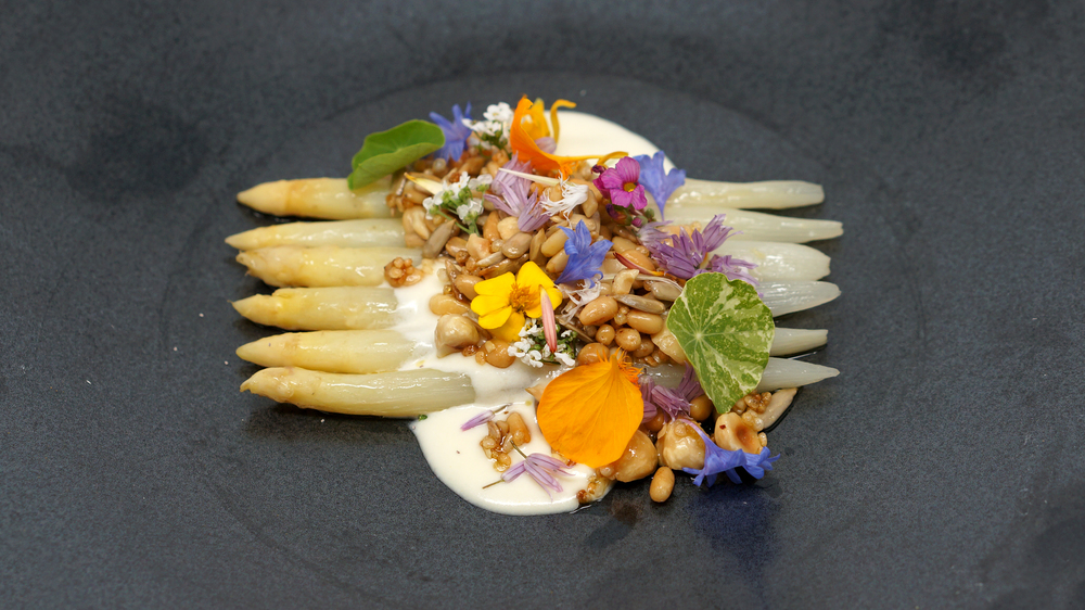 2014.05.07 - white asparagus, toasted nuts, comte cream.jpg