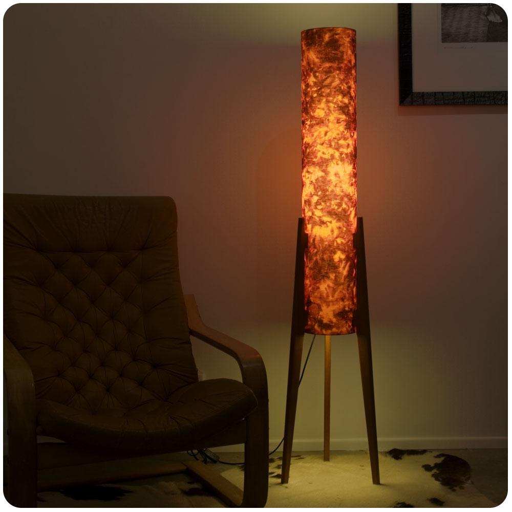 Hot Lava Floor Rocket Lamp