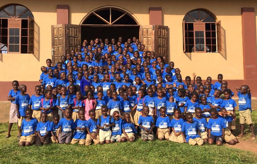 2014 Suubi Primary School Students