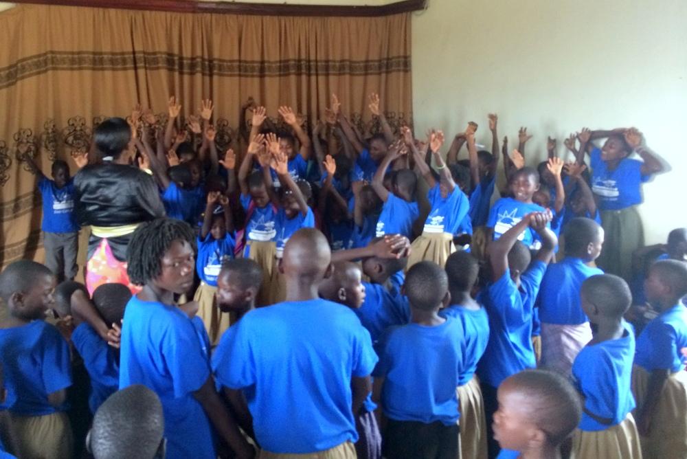 Children accepting Jesus as Savior!