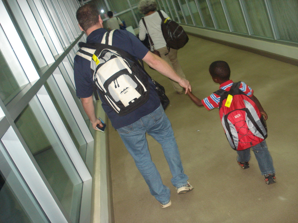 Daniel and his Dad headed Home!