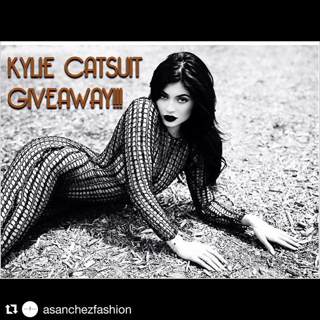 Go check it out this amazing giveaway! . . !! KYLIE CATSUIT GIVEAWAY!! Enter for a chance to win this custom catsuit worn by Kylie Jenner. Follow the instructions below to enter: 1) Follow this page 2) Like this post 3) Tag 3 friends who would be interested  4) Hashtag #asgiveaway #kyliexasanchez #asanchezfashion #afolfosanchez  The contest ends June 22th at Midnight PST. A winner will be chosen at random and announced the following day. Best of luck! 💕💞 Tag a friend you know will love this! 💘