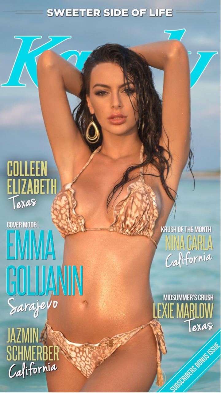 Emma Golijanin for Kandy Magazine