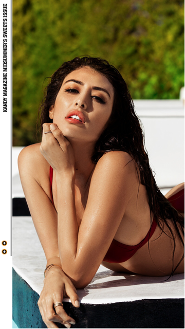 Jazmin Schmerber for Kandy Magazine booked by Nova Prime PR
