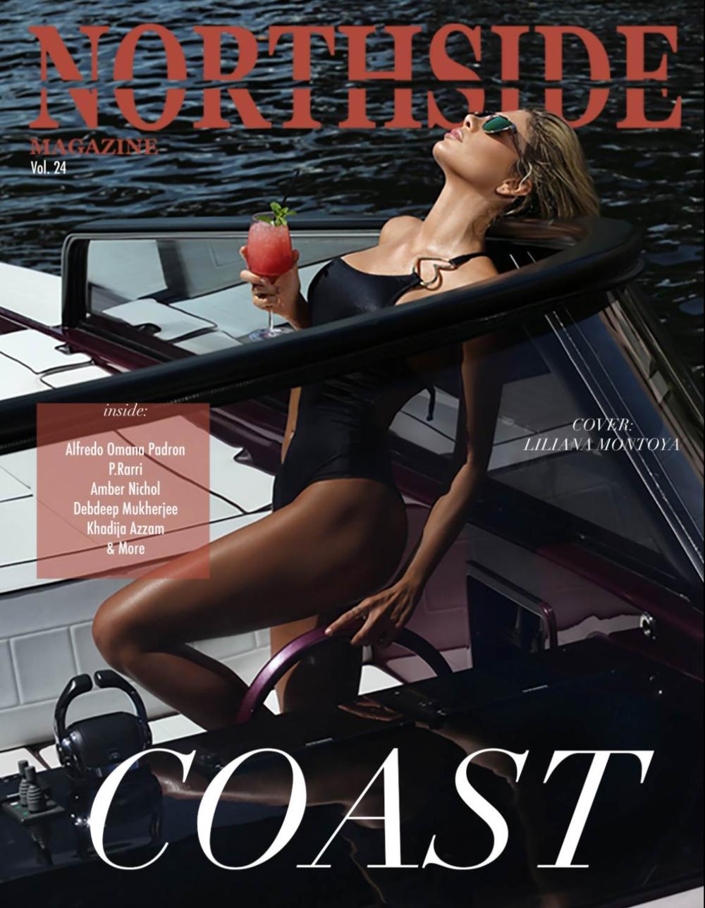 Liliana Montoya for NORTHSIDE Magazine secured by Nova Prime PR