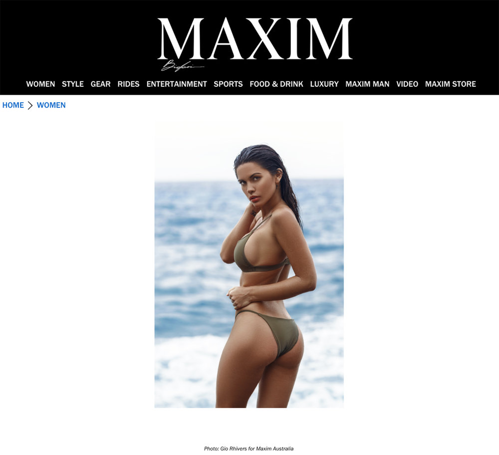 Maxim.com with Tawny Jordan by Gio Rhivers | Booked by Nova Prime PR