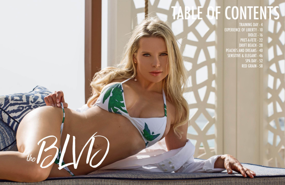 Arina Feeney for The Boulevard Magazine 2018 April shot by AJGfilmproductions | Booked by Nova Prime PR