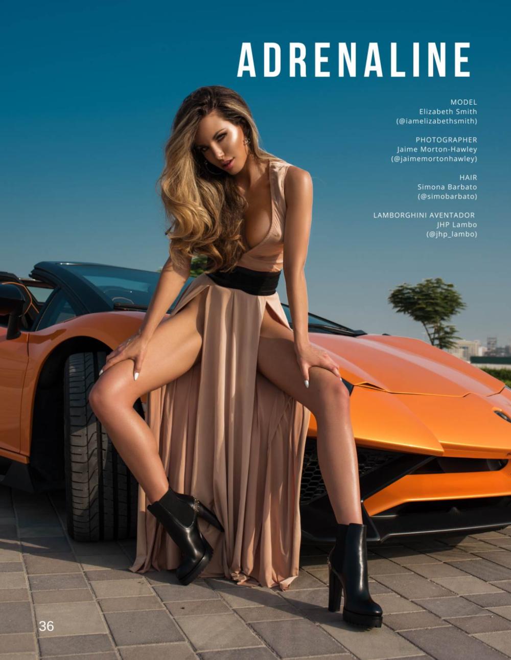 Model Elizabeth Smith for Boulevard Magazine by Jaime Morton-Hawley | Booked by Nova Prime PR