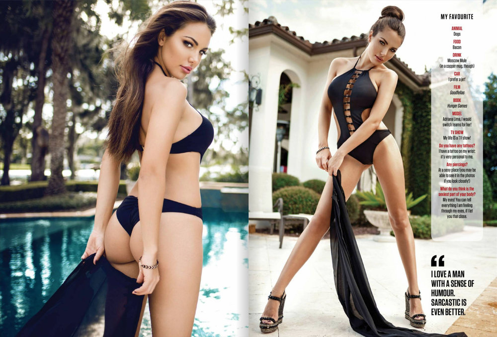 Model Elizabeth Smith for FHM India by Jaime Morton-Hawley | Booked by Nova Prime PR