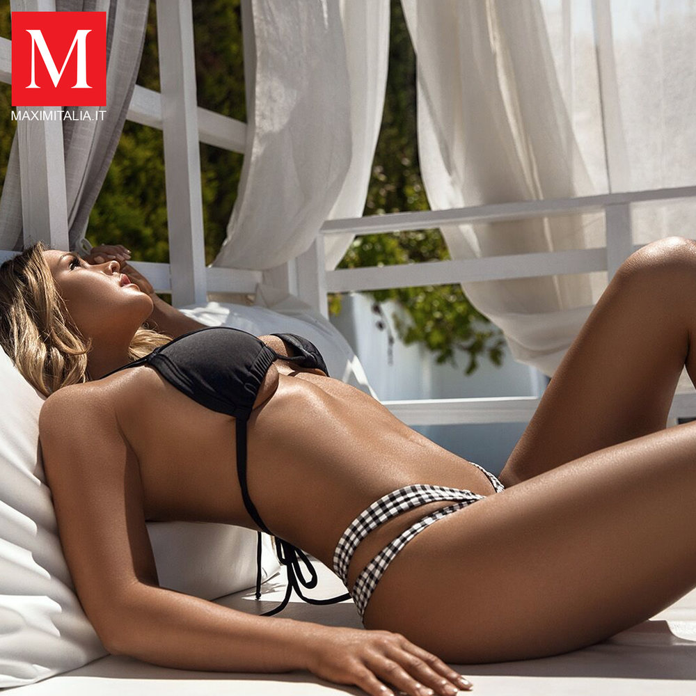 Maxim Italia with Kinsey Wolanski by Jenya Luzan of Tropic Pic | Booked by Nova Prime PR