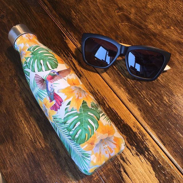 Sunny day essentials...hope you are having a very happy bank holiday! . . #sunnies @linesandcurrent #waterbottle @chillysbottles Both available in store . . . #uvprotection #reusablewaterbottle #salutethereuser #chillyseverywhere #yogalifestyle #yogaboutique #monsteraleaf #cheeseplant #plantsofinstagram