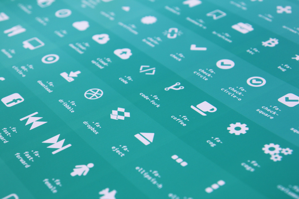 FONT AWESOME (V4.3.0) Over 519 icons in this version! Now from only $19.95 USD!