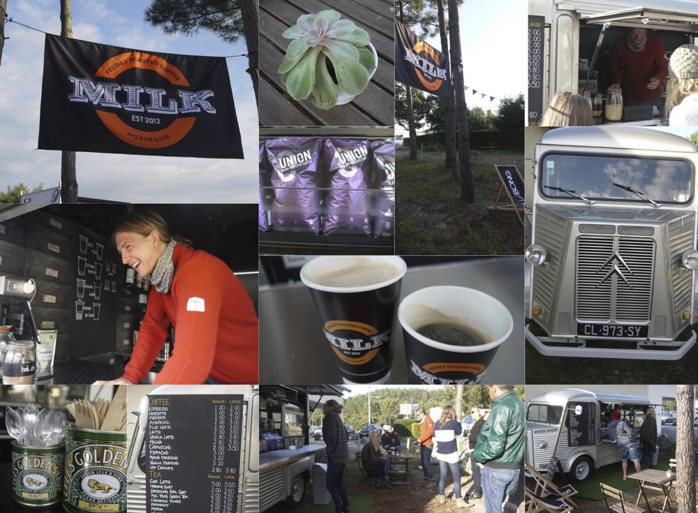 The Milk Coffee Co. van has become part of the local community