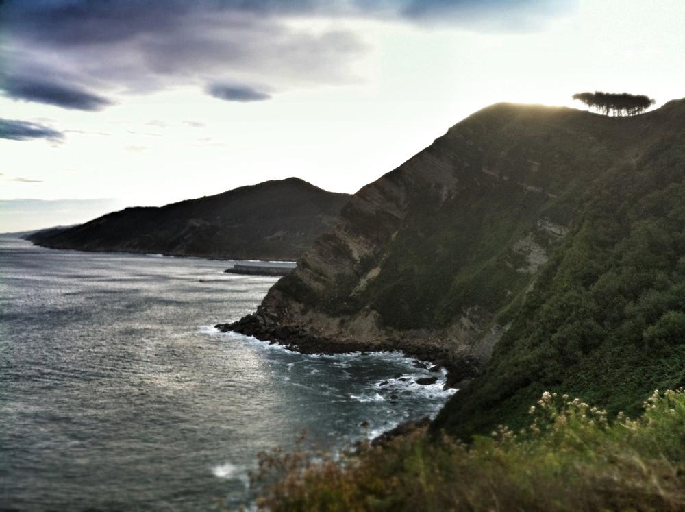 In the days that follow we discovered the stunning coastline around Zarautz...