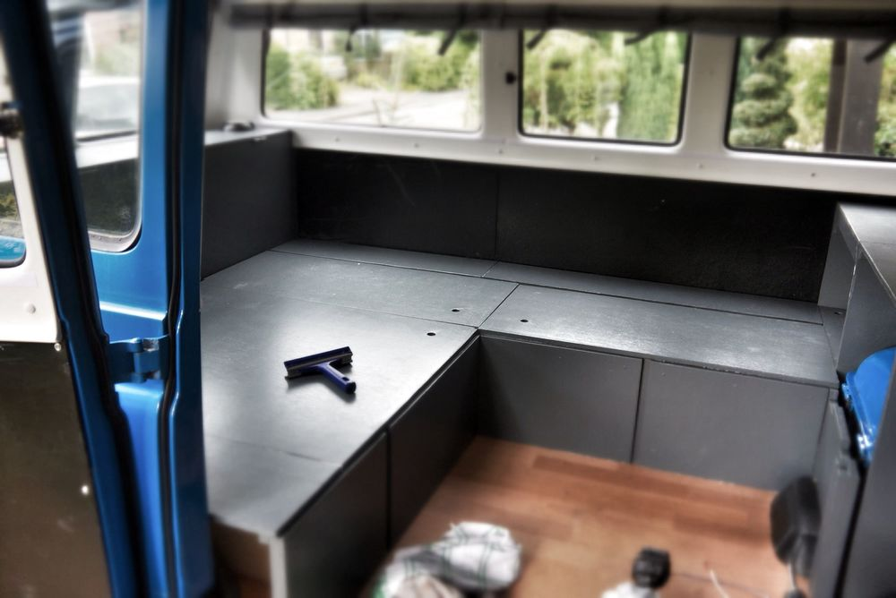 Storage with lift up lids