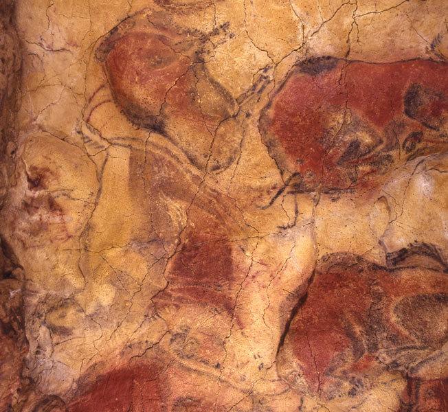 The 20,000-year-oldAltamira paintings