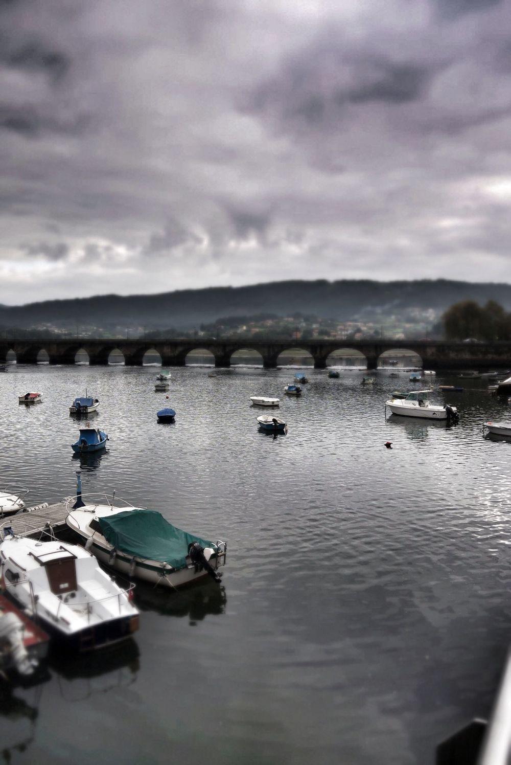 The bridge in Pontedeume