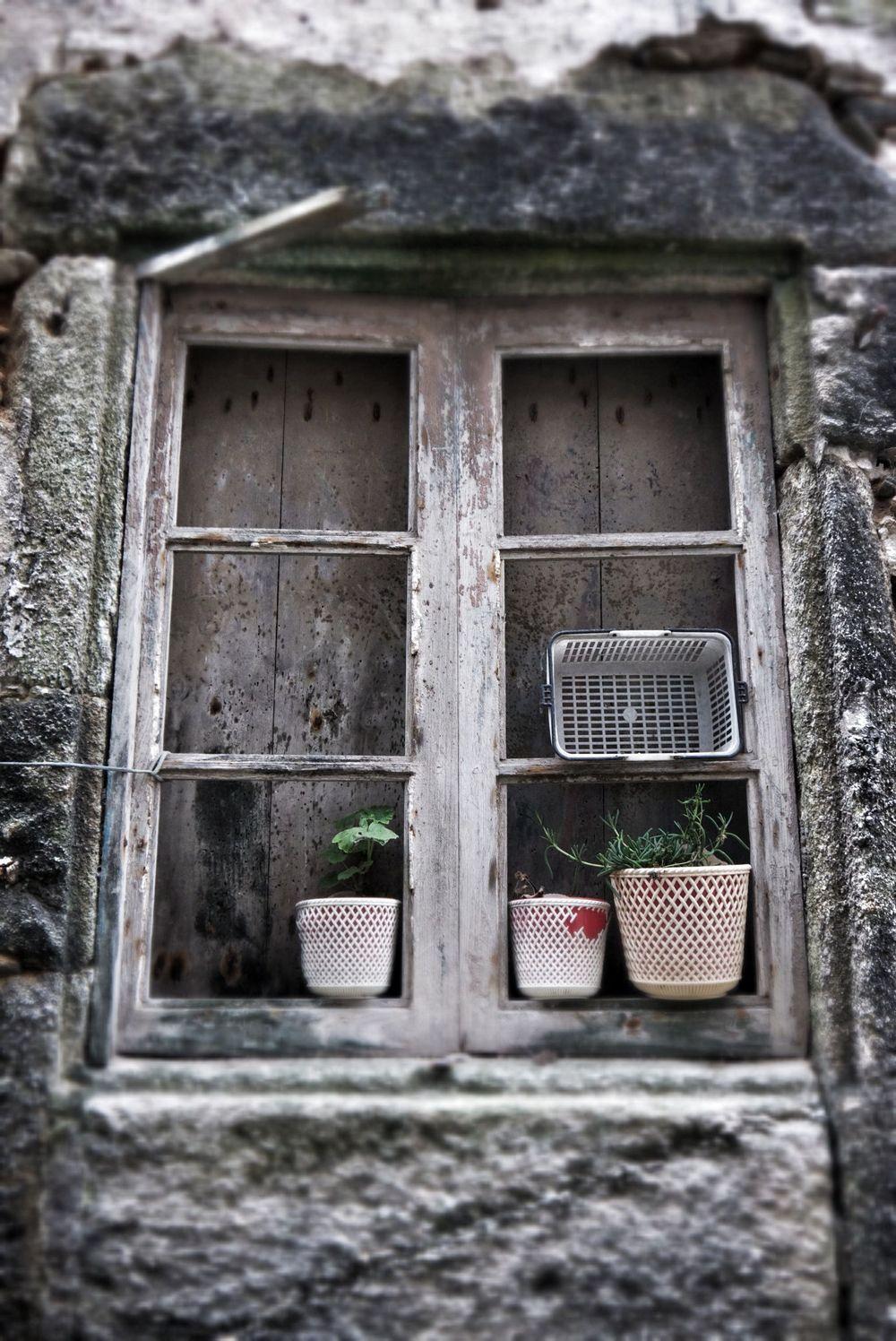 Old window in Malpica