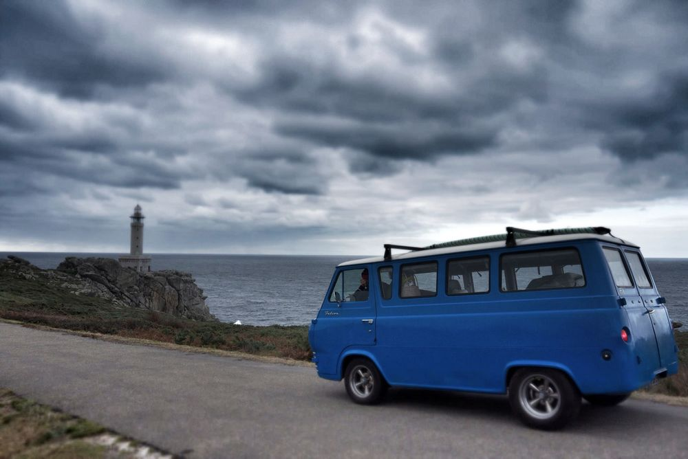 Driving to the Nariga lighthouse