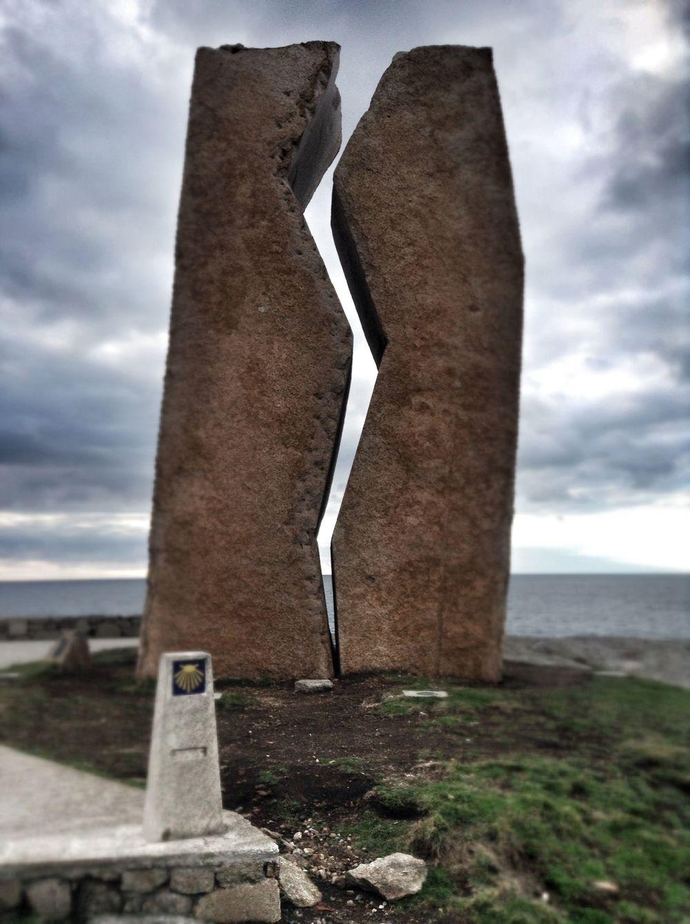 Monument commemorating the Prestige disaster