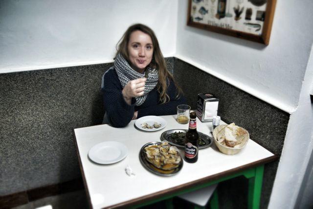 Eating at O Gato Negro