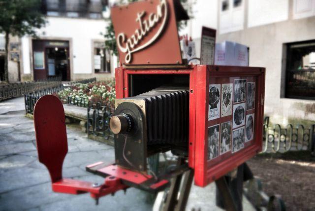 Vintage camera for a nostalgic souvenir