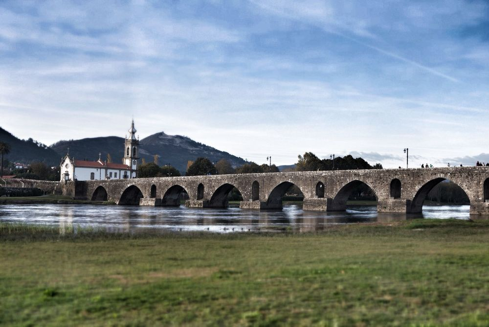 The famous bridge at Ponte de Lima
