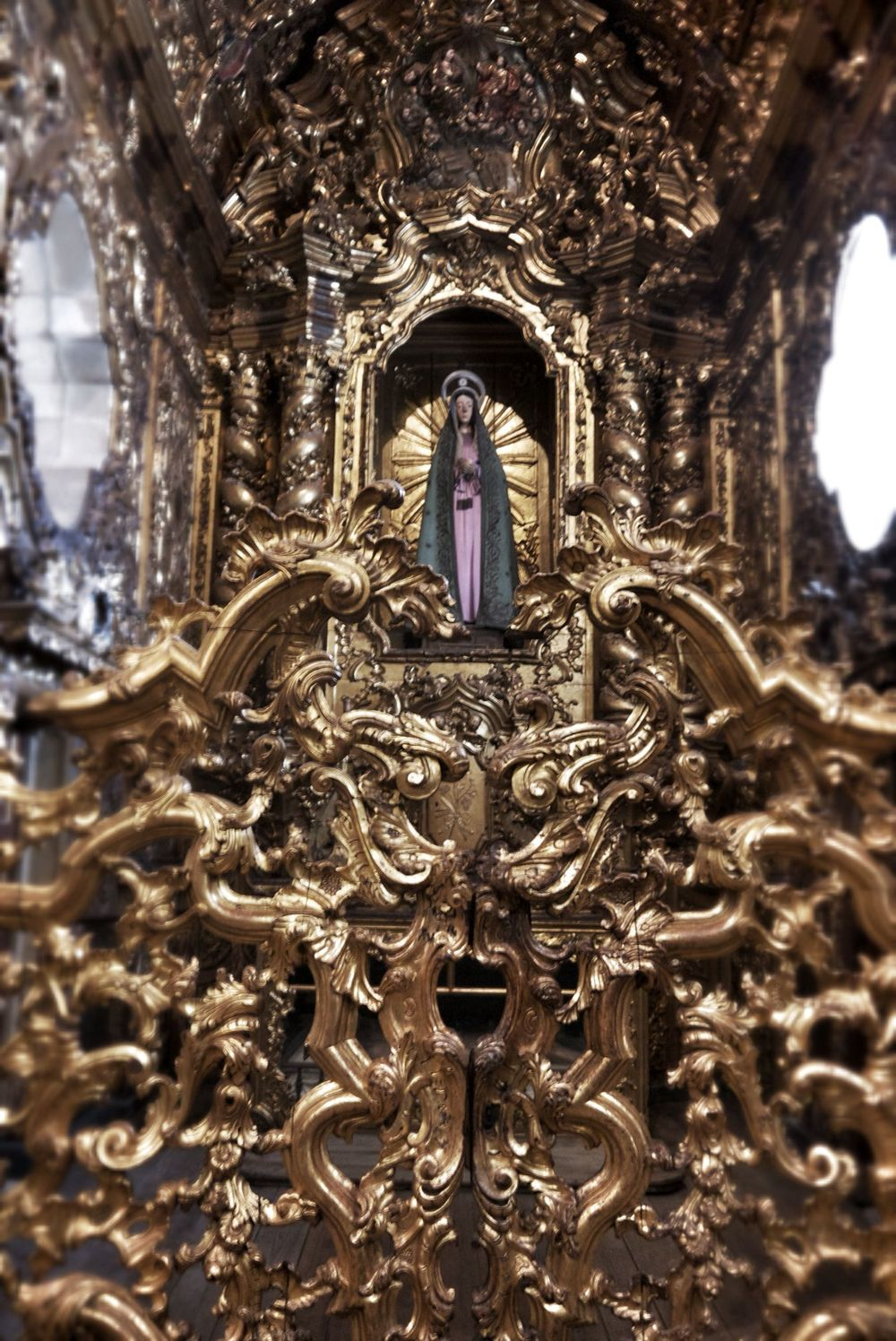 The virgin Mary had a particularly ornate chapel