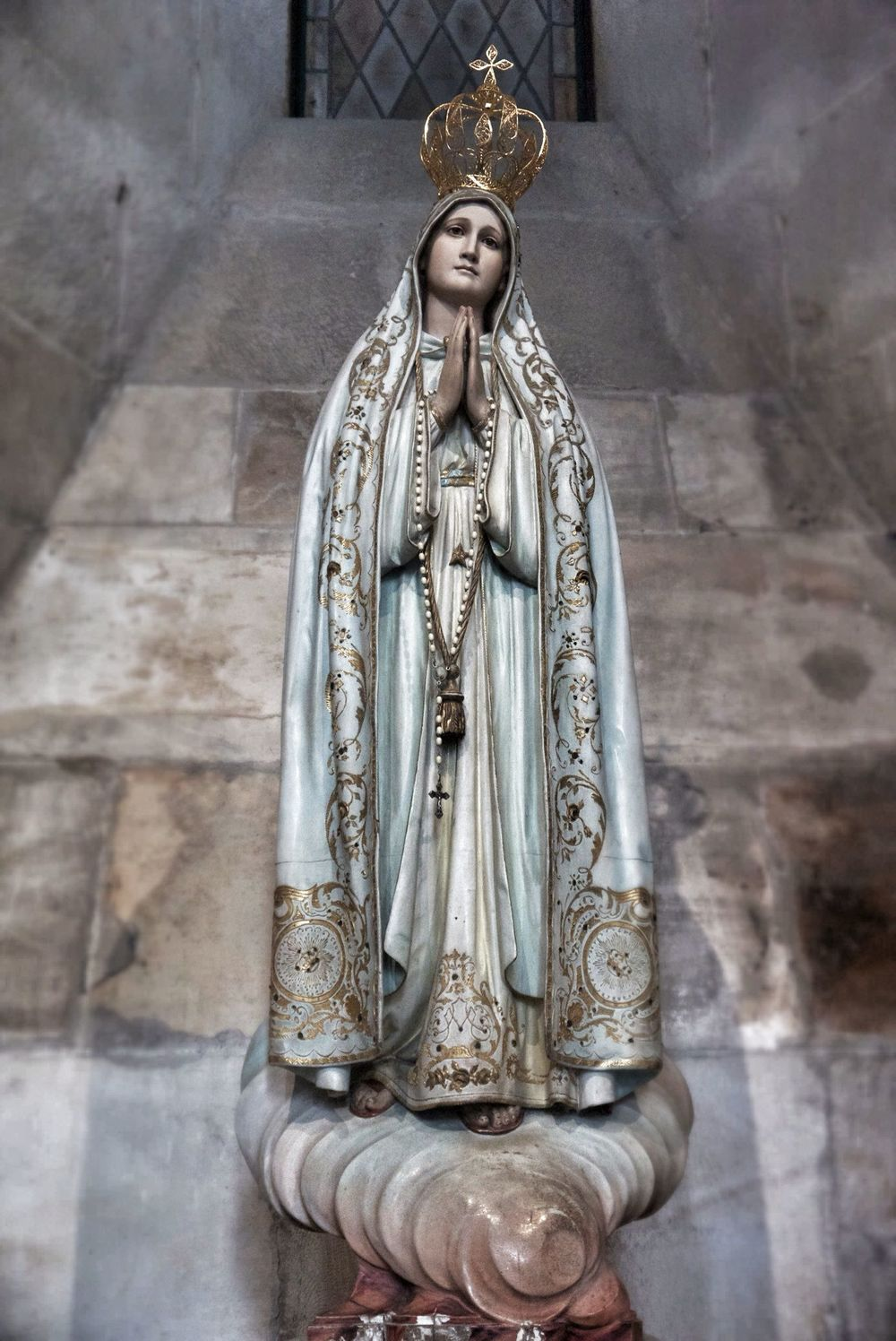 Quite possibly the most beautiful statue in a church ever