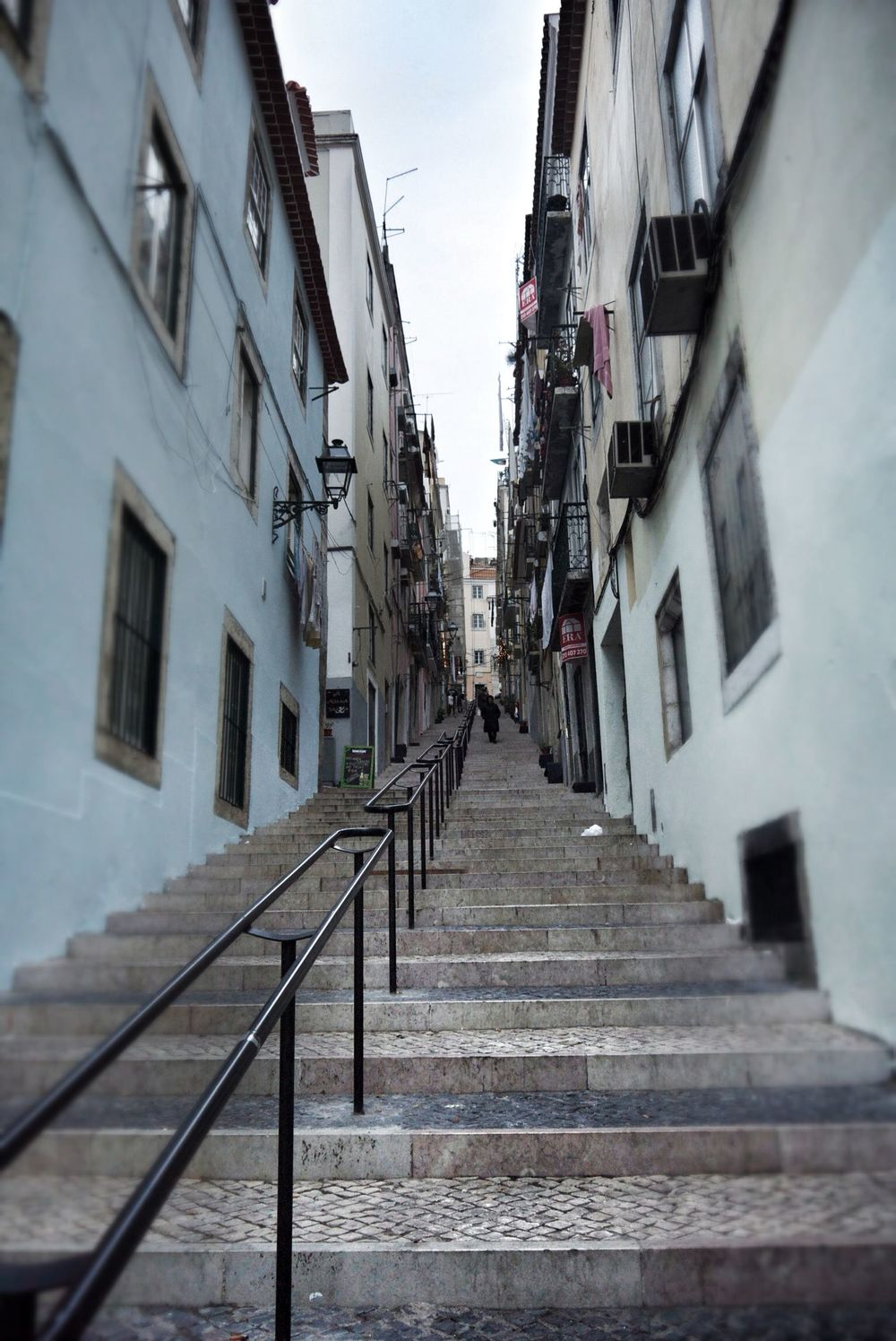 The steep streets of Bica