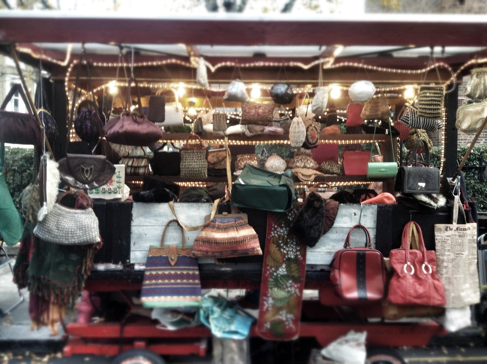 Market stall, Portobello Road