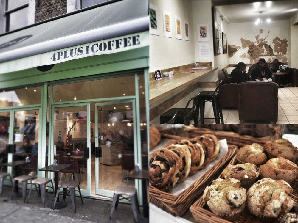 4+1 Coffee, Golbourne Road