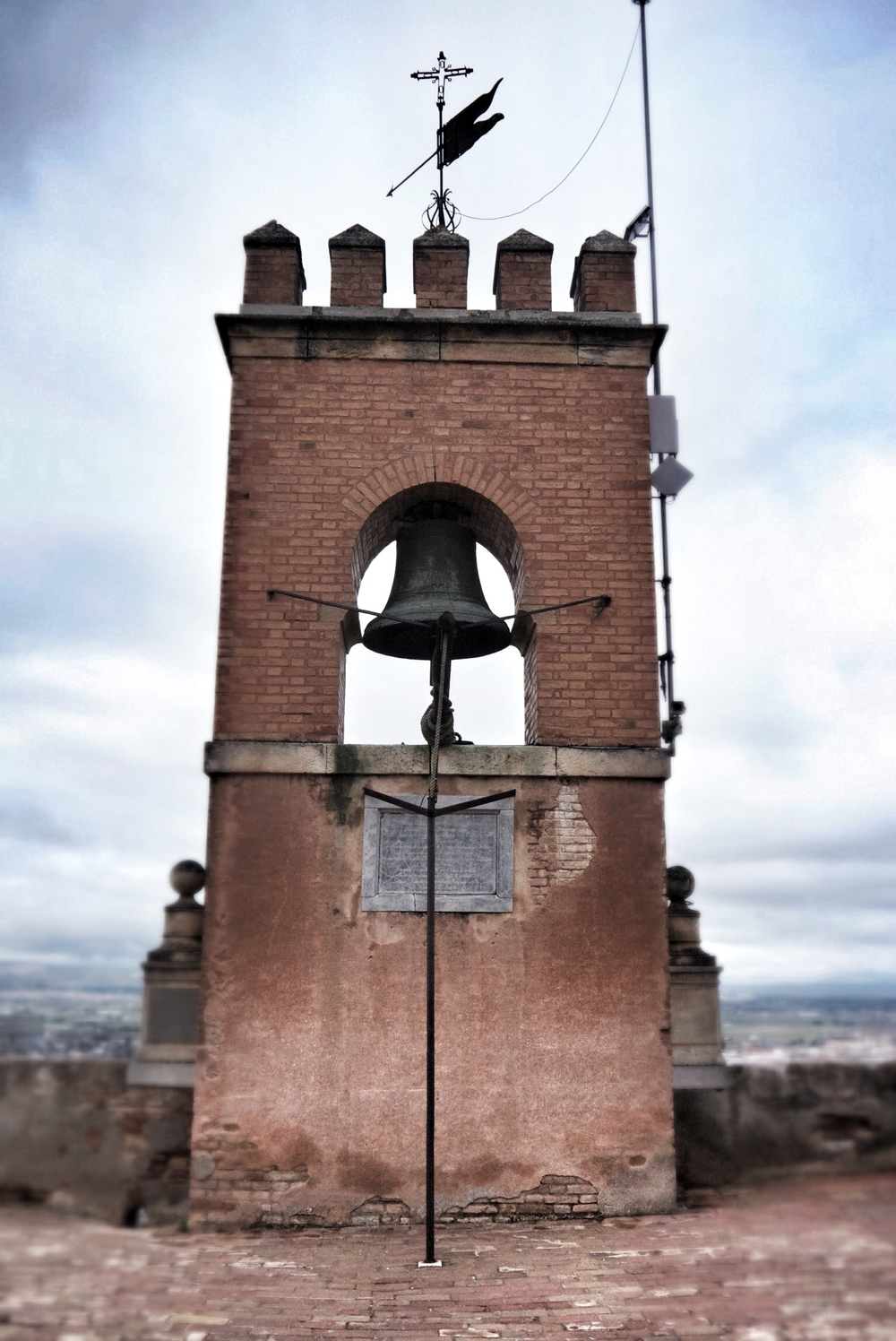 The Alcazaba bell