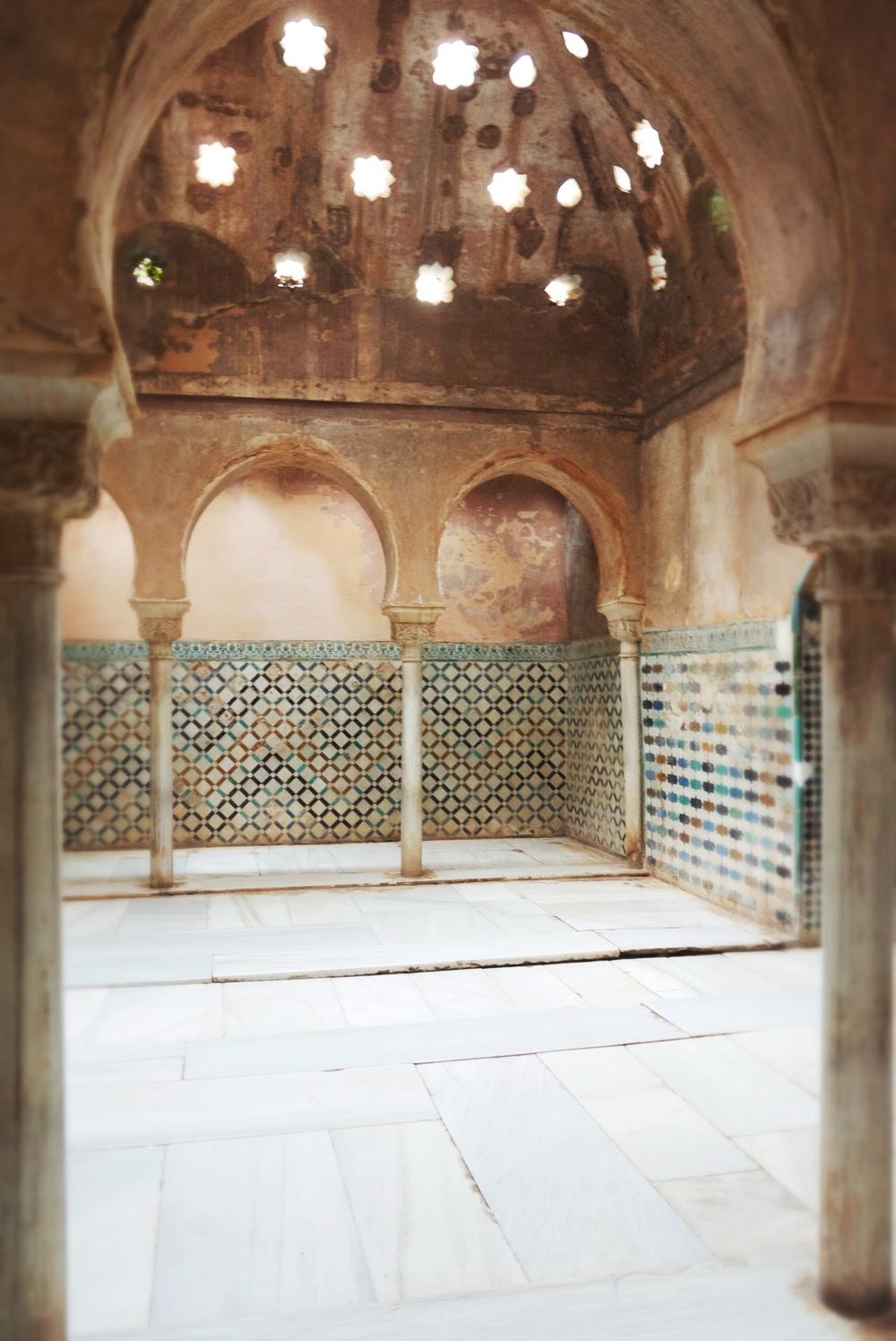 Royal bathhouse