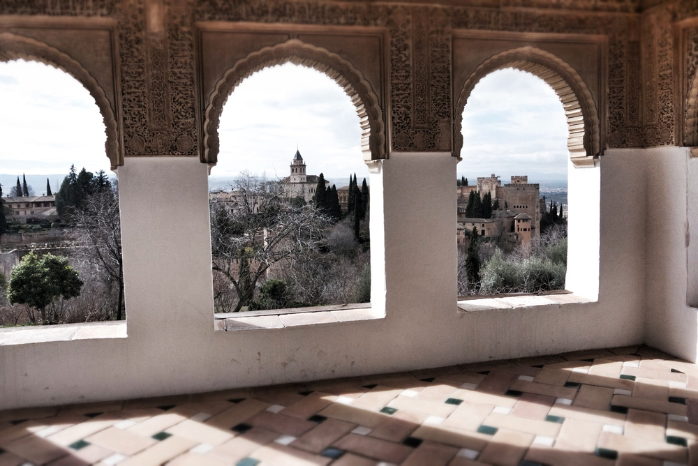 View from the Generalife to the Nasrid Palace