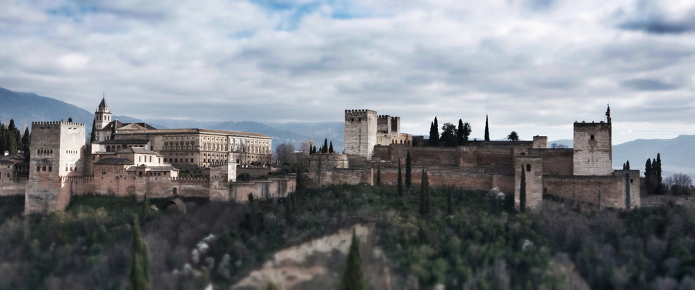 View of the Alhambra from the Albaicin