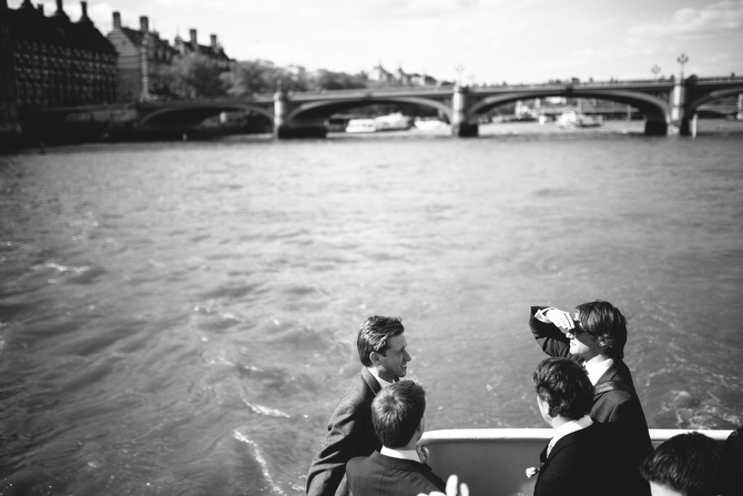 London Wedding Boat Trip
