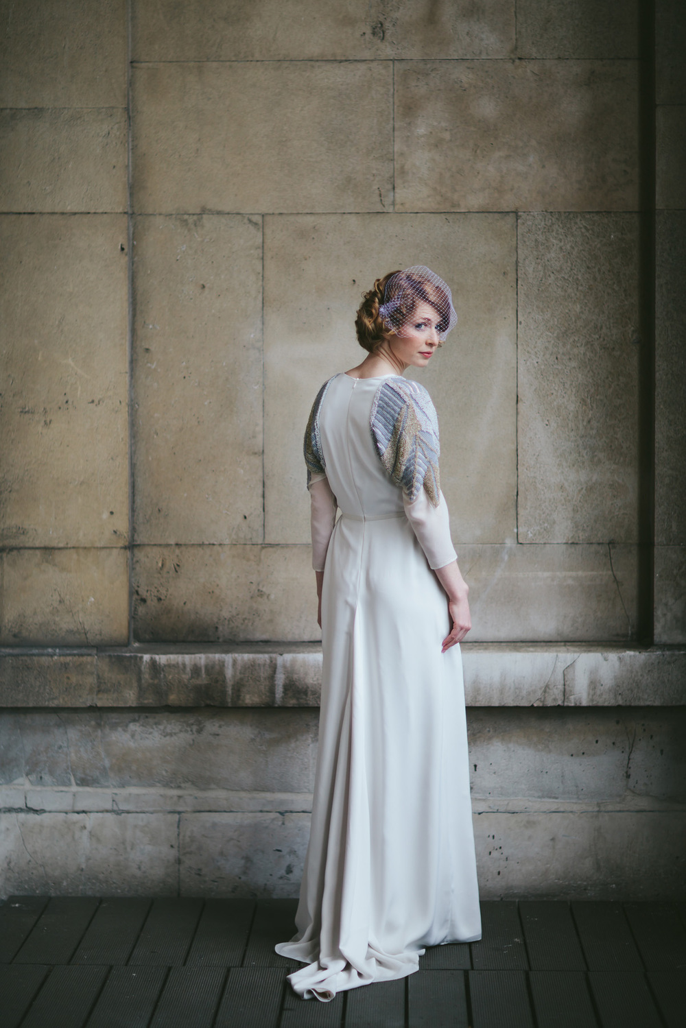 Bespoke Wedding Dress Edeline Lee